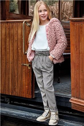 Mayoral παιδικό καρό παντελόνι με ζώνη στη μέση ( 8 - 16 χρονών)