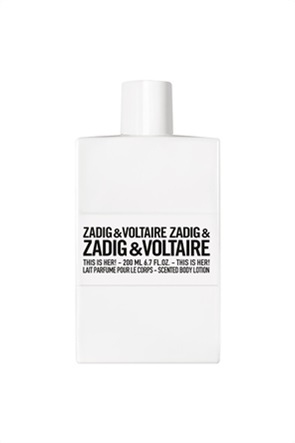 Zadig & Voltaire This is Her! Body Lotion 200 ml