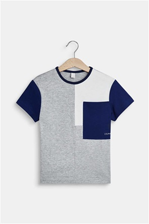 Esprit παιδικό T-shirt με colour blocking (2-9 ετών)