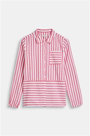 Esprit παιδικό ριγέ πουκάμισο με τσέπη (9-14 ετών)