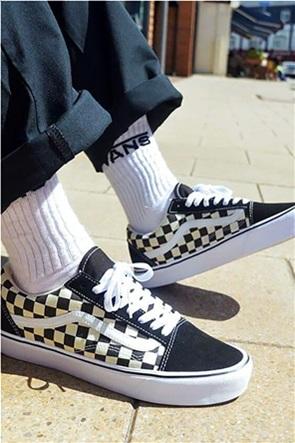 Vans unisex suede sneakers με check σχέδιο  UA Old Skool