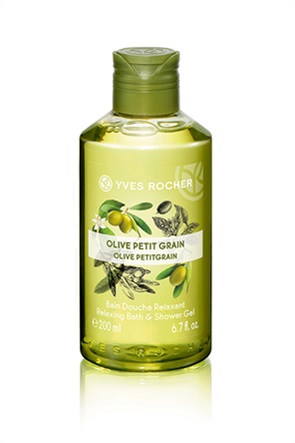 Yves Rocher Relaxing Bath and Shower Gel Olive Petitgrain 200 ml
