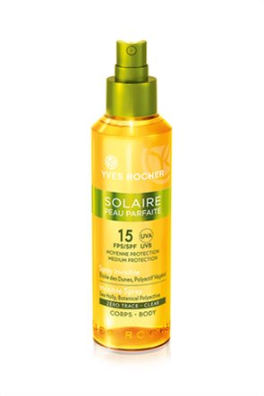 Yves Rocher Solaire Invisible Spray Clear – Body SPF 15 150 ml