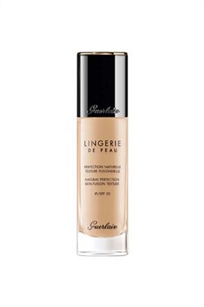 Guerlain Lingerie De Peau Natural Perfection Skin-Fusion Texture Fluid Foundation 02W Light Warm 30 ml