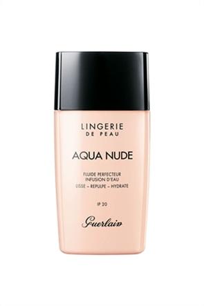Guerlain Lingerie De Peau Aqua Nude Water-Infused Perfecting Fluid Foundation 01W Very Light Warm 30 ml