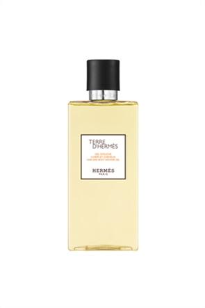 Terre d'Hermès Τζελ Ντους Για Το Σώμα Και Τα Μαλλιά 200 ml