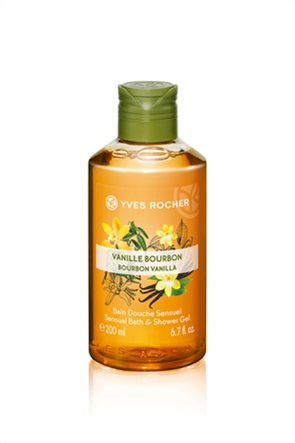 Yves Rocher Shower Gel Vanilla - Αφρόλουτρο Βανίλια 200 ml