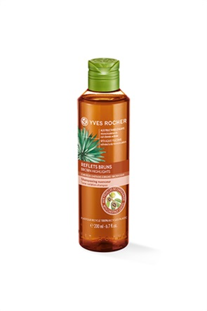Yves Rocher Shampooing Reflets Brunes Flacon 200 ml