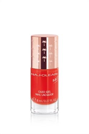 Naj-Oleari Oleo Gel Nail Lacquer 20 Coral Red 8 ml