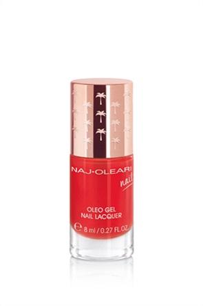 Naj-Oleari Oleo Gel Nail Lacquer 21 Poppy Red 8 ml