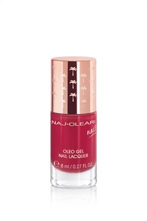 Naj-Oleari Oleo Gel Nail Lacquer 23 Currant Red 8 ml