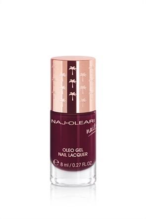Naj-Oleari Oleo Gel Nail Lacquer 25 Black Red 8 ml