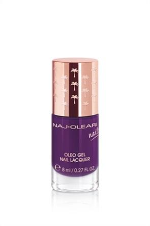 Naj-Oleari Oleo Gel Nail Lacquer 28 Eggplant Purple 8 ml