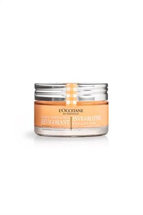 L'Occitane Invigorating 3 in 1 Revitalizing Face & Eye Mask 75 ml
