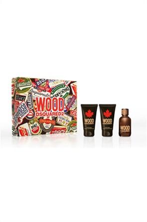 Dsquared2 Wood Pour Homme Eau de Toilette 50 ml + Perfumed Bath & Shower Gel 50 ml + After Shave Balm 50 ml