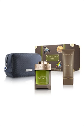 Bvlgari Man Wood Essence Spring Set Eau de Parfum 100 ml + After Shave Balm 100 ml + Pouch
