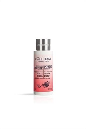 L'Occitane Powder-To-Mousse Facial Exfoliator & Mask 50 gr