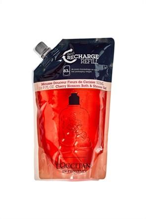 L'Occitane Cherry Blossom Βath & Shower Gel Eco-Refill 500 ml