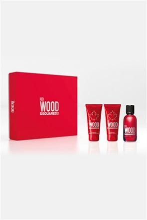 Dsquared2 Red Wood Eau de Toilette 50 ml + Perfumed Bath & Shower Gel 50 ml + Perfumed Body Lotion 50 ml