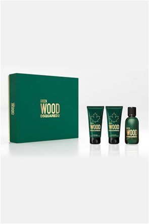 Dsquared2 Green Wood Eau de Toilette 50 ml + Perfumed Bath & Shower Gel 50 ml + Perfumed After Shave Balm 50 ml