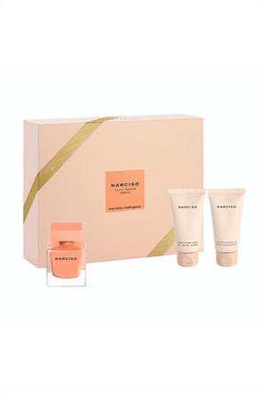 Narciso Rodriguez Narciso Ambree Xmas Set 2020 Eau de Parfum 50 ml + Body Lotion 50 ml + Shower Gel 50 ml