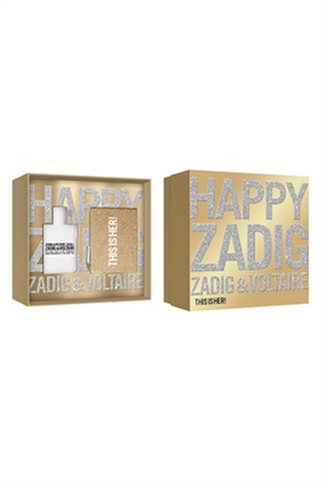 Zadig & Voltaire This Is Her Xmas Set 2020 Eau de Parfum 50 ml + Accessoir