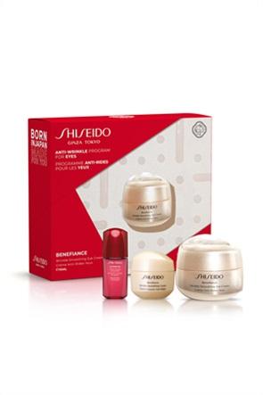 Shiseido Benefiance Wrinkle Smoothing Eye Cream Set 15 ml & ULTIMUNE Power Infusing Concentrate 10 ml & BENEFIANCE Wrinkle Smoothing Cream 15 ml