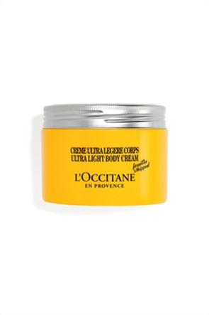 L'Occitane Shea Ultra Light Body Cream Invigorating Scent 200 ml