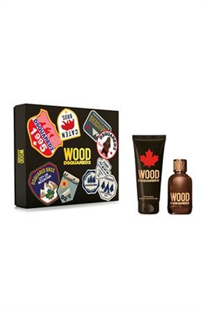 Dsquared2 Set  Wood Pour Homme Eau de Toilette 100 ml + Bath & Shower Gel 150 ml Spring 2021