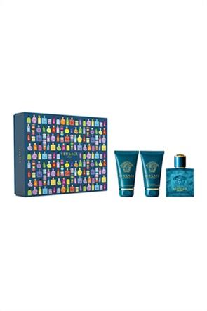 Versace Set Eros Pour Homme Eau de Toilette 50 ml + Bath & Shower Gel 50 ml + After Shave Balm 50 ml Spring 2021