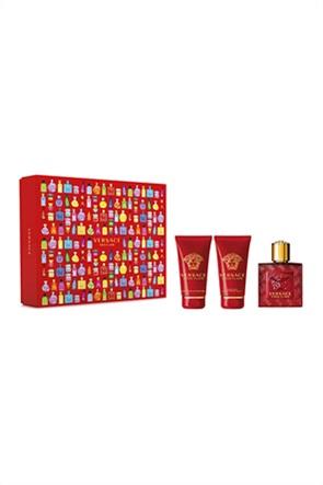 Versace Set Eros Flame Eau de Parfum 50 ml + Bath & Shower Gel 50 ml + After Shave Balm 50 ml Spring 2021