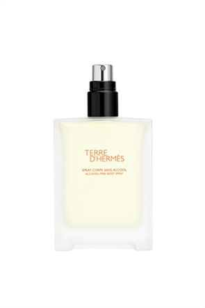 Terre d'Hermès spray σώματος χωρίς αλκοόλη