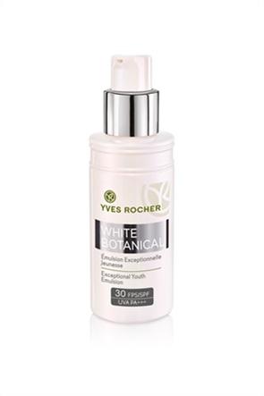 Yves Rocher White Botanical Exceptional Youth Emulsion SPF30 50 ml