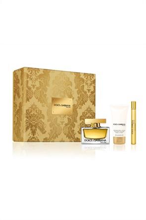 Dolce & Gabbana The One Eau de Parfum 75 ml Trio & Body Lotion 50 ml & Eau de Parfum Mini Size 10 ml
