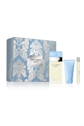 Dolce & Gabbana Light Blue Eau de Toilette 100 ml Trio &  Body Cream 50 ml & Eau de Toilette Mini Size10 ml