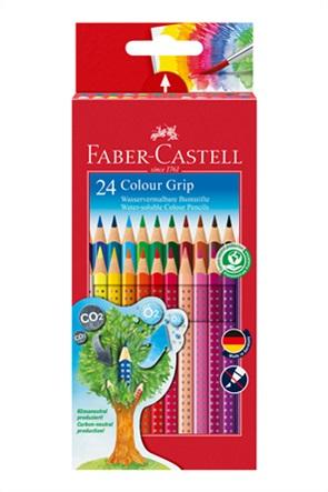 Faber-Castell Ξυλομπογιές Grip σετ των 24 χρωμάτων