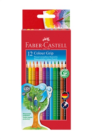 Faber-Castell Ξυλομπογιές Grip σετ 12 χρωμάτων