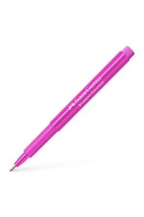 Faber-Castell Μαρκαδοράκι γραφής Broadpen, Ροζ