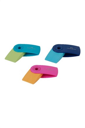 Faber-Castell Grip Γόμα mini sleeve δίχρωμη