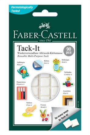 Faber-Castell Tack-It Αυτοκόλλητο Ζυμαράκι 50 gr