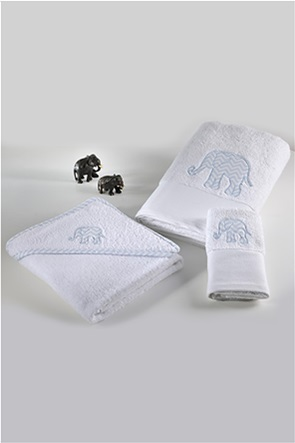 "DOWN TOWN Home σετ βρεφικές πετσέτες ""Baby Elephant"" (2 τεμάχια)"