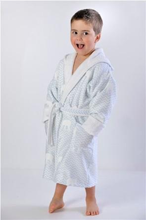 """DOWN TOWN Home παιδικό μπουρνούζι με σχέδιο ελεφαντάκι και κουκούλα """"687"""" Νο.2"""