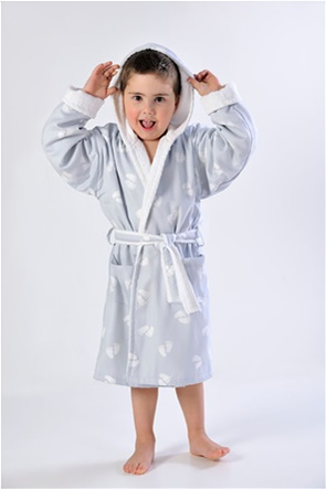 DOWN TOWN Home Παιδικό μπουρνούζι 689 (2-4 ετών)