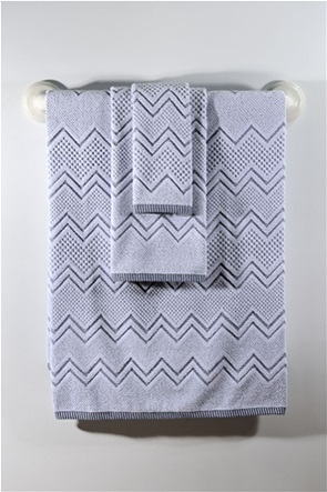 DOWN TOWN Home Σετ πετσέτες μπάνιου Classic 550 Waves (3 τεμάχια)