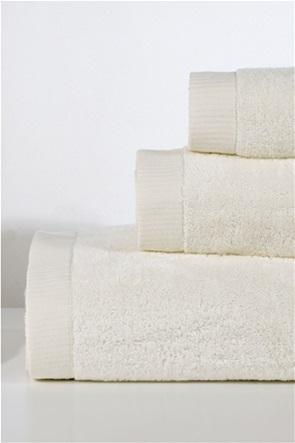 DOWN TOWN Home Σετ πετσέτες μπάνιου Lotus Ecru (3 τεμάχια)