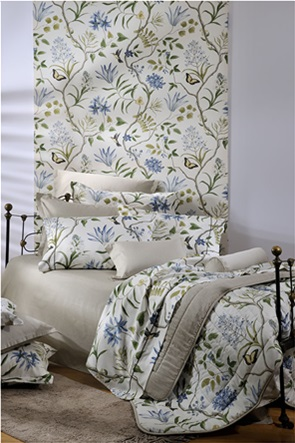 """DOWN TOWN Home σετ σεντόνια king size με floral print """"749"""" (4 τεμάχια)"""
