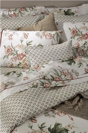 "DOWN TOWN Home σετ μαξιλαροθήκες oxford με floral print ""758"" (2 τεμάχια)"