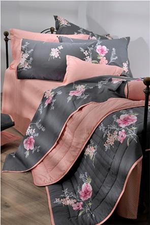 "DOWN TOWN Home σετ παπλωματοθήκη μονή με floral print ""P190"" (2 τεμάχια)"