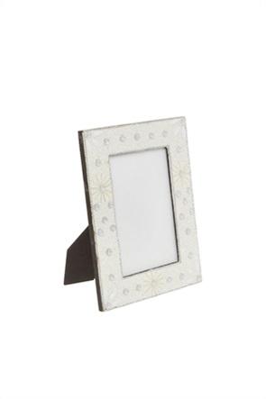 Coincasa χειροποίητη κορνίζα με χάντρες 10 x 15 cm