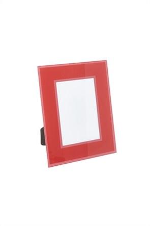 Coincasa γυάλινη κορνίζα χρωματιστή 15 x 10 cm